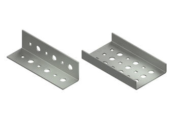 Perforated Angle & Channel Trays