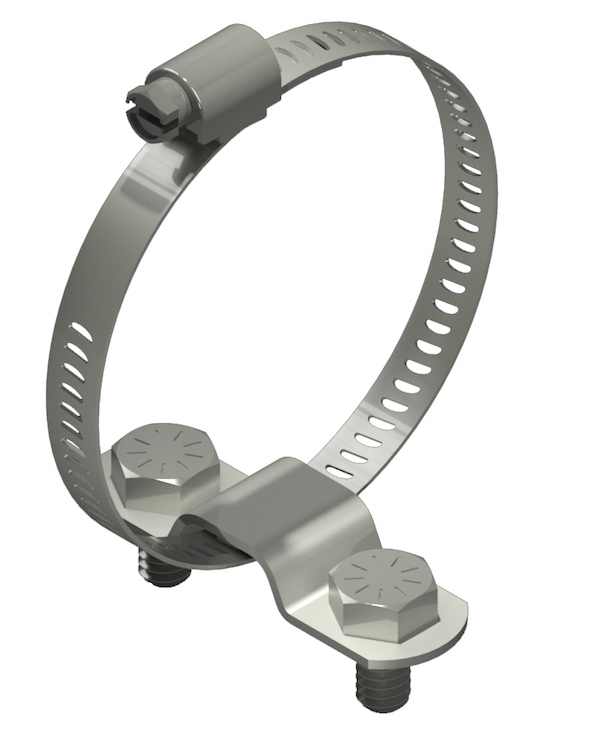 Bundle Clamps for Tubing - Cable Bundle & Stainless Steel Band ...