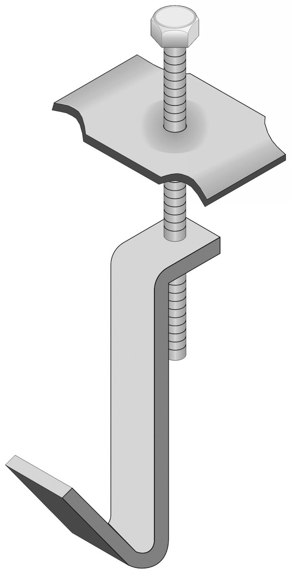G Clip Grating Fasteners - Model GM & Type G Grating Clips