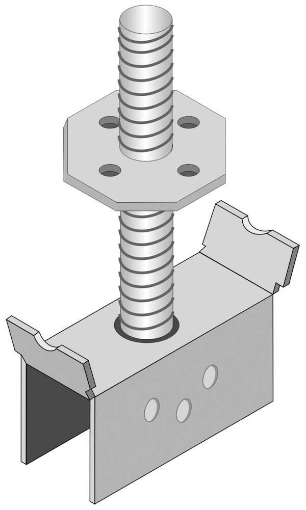 model GM mounting hardware