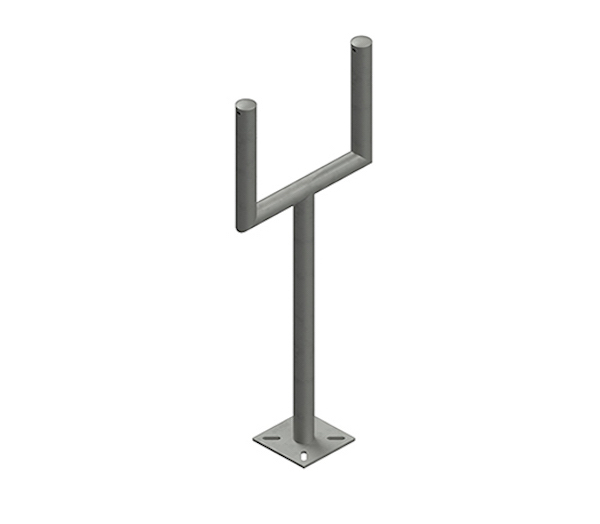 Instrument Double Floor Stand