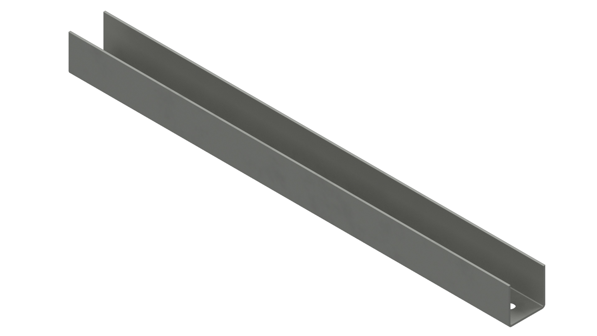 Channel Cable Tray - Aluminum Perforated Angle Tubing Tray